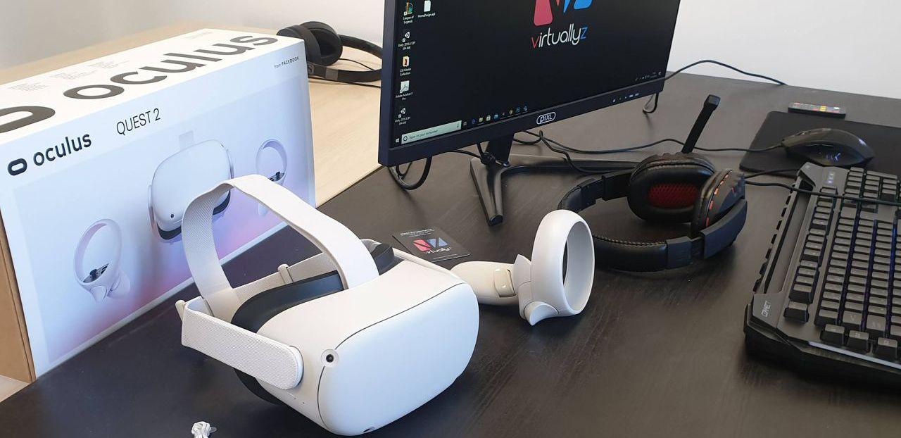 L'oculus Quest 2 est arrivé au bureau !